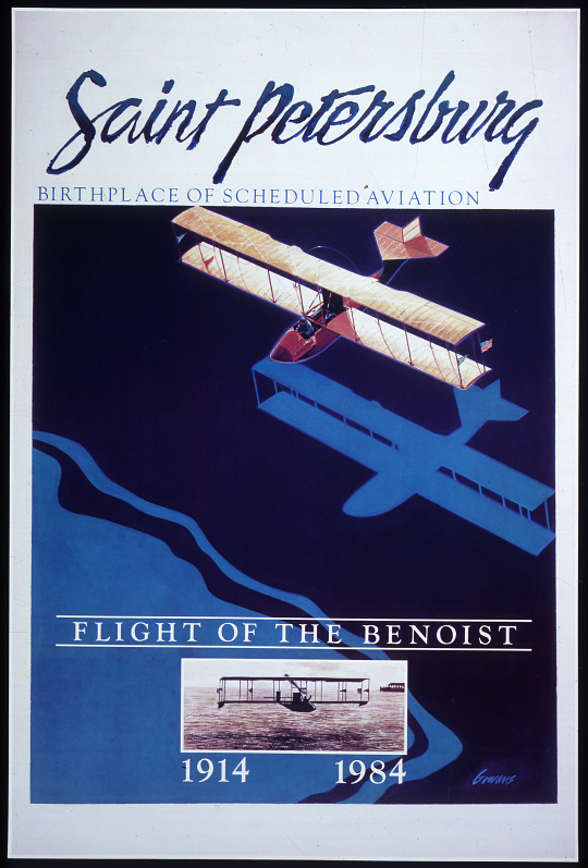 Saint Petersburg Flight of the Benoist 1914-1984