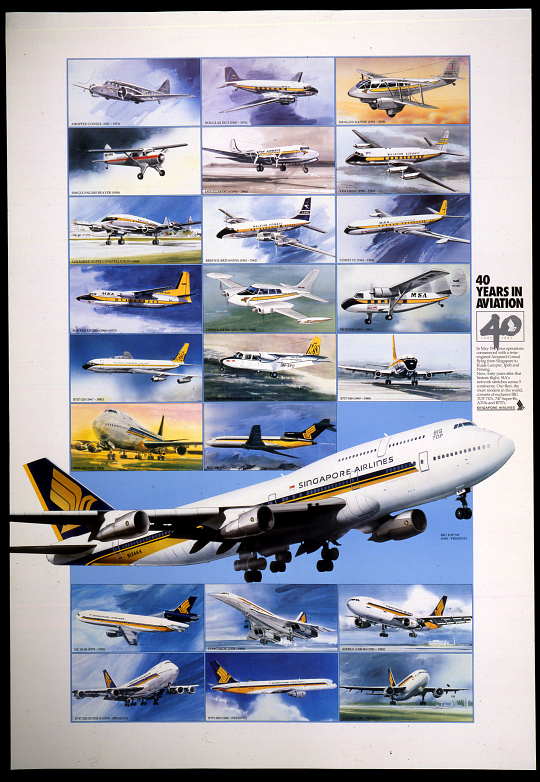 Singapore Airlines 40 Years in Aviation