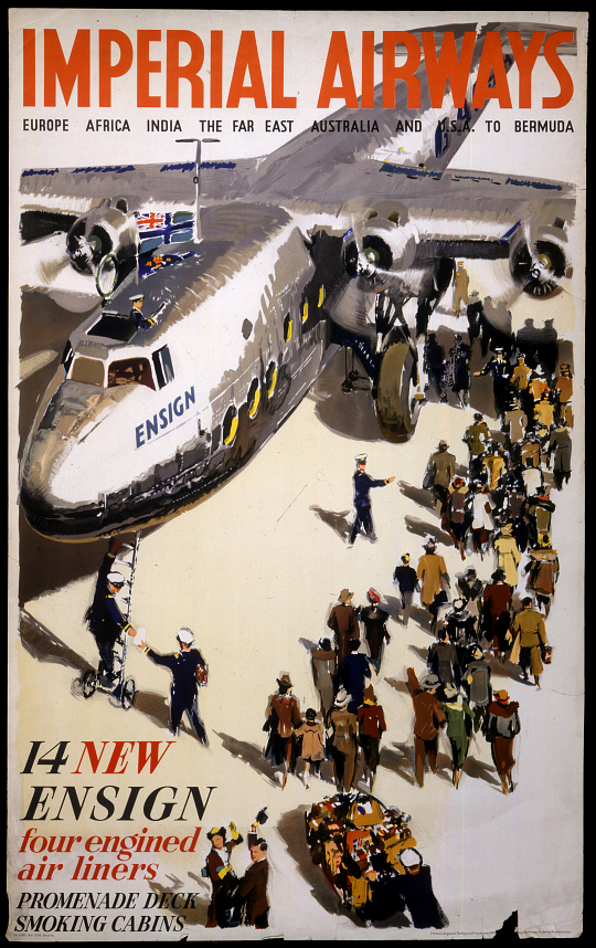 Imperial Airways 14 New Ensign Four Engined Airliners