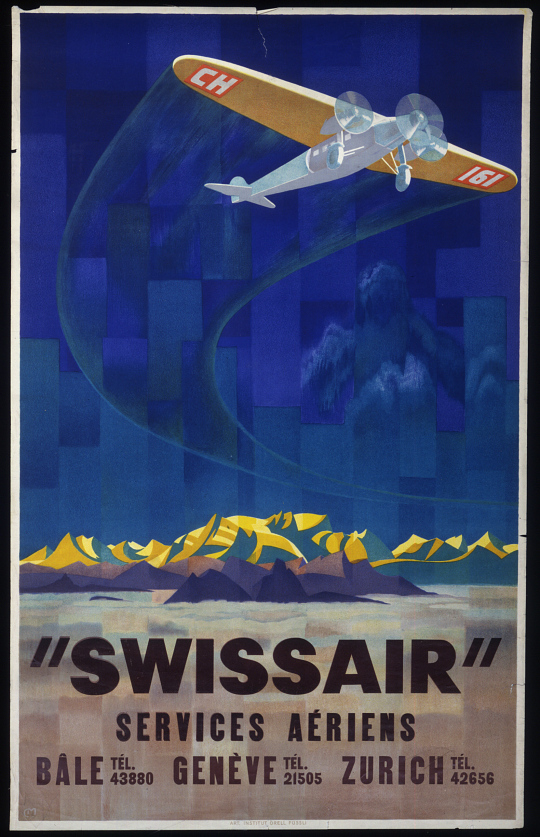 """Swissair' Services Aeriens"