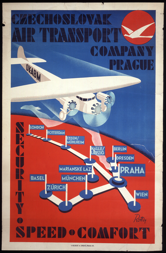 Czechoslovak Air Transport Company, Prague Security Speed Comfort