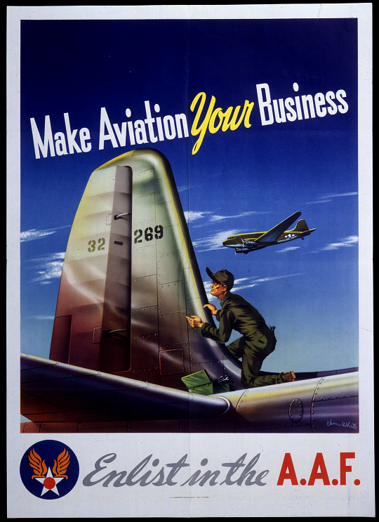 Make Aviation Your Business Enlist in the A.A.F