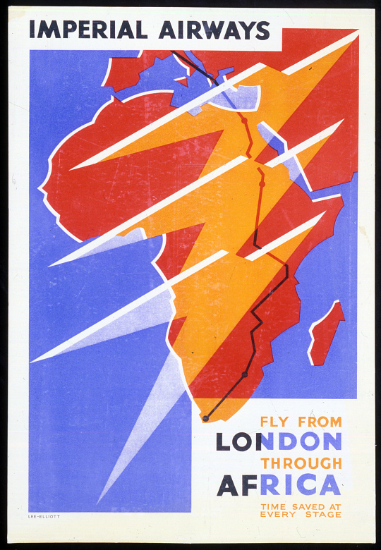 Imperial Airways Fly From London Through Africa