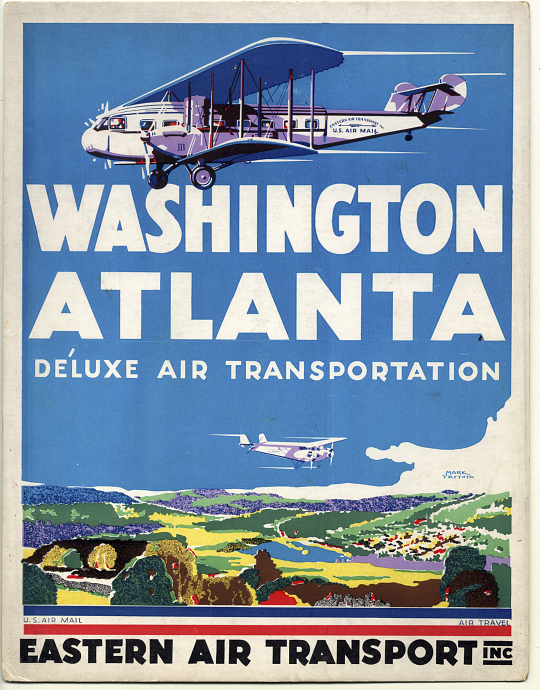 Easten Air Transport Washington Atlanta