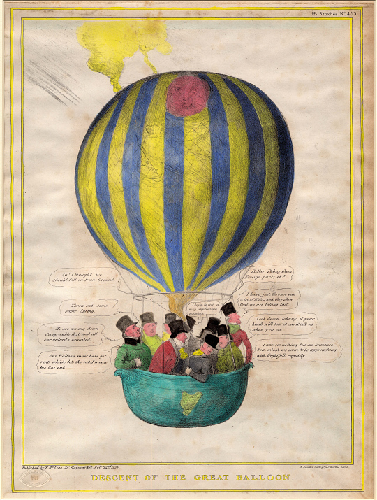 Descent of the Great Balloon
