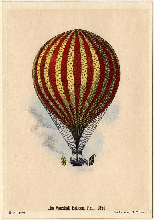 The Vauxhall Balloon, Phil. 1850