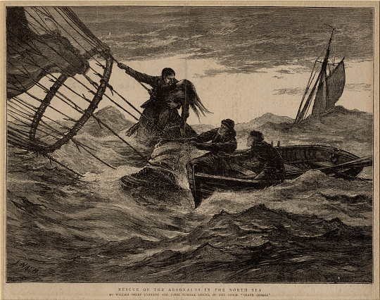 Rescue of the Aeronauts in the North Sea
