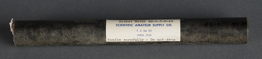 Motor, Model Rocket, Scientific Amateur Supply