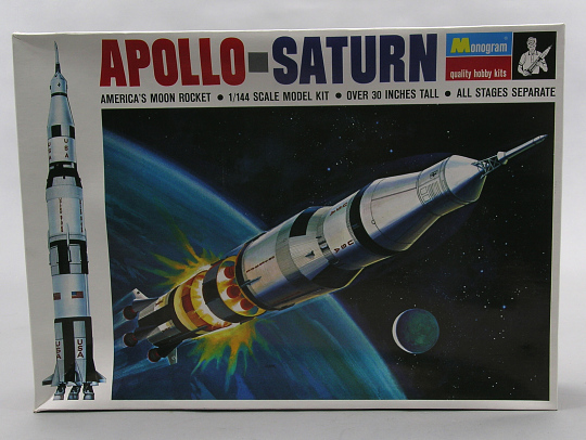 Model Kit, Rocket, Saturn V, 1:144