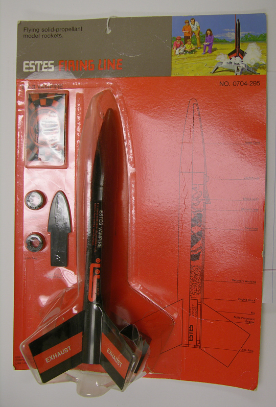 Rocket, Flying Model Kit, EV-3 Vampire