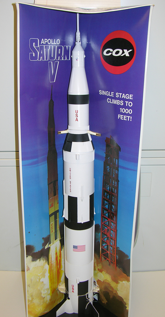 Rocket, Flying Model Kit, Saturn V