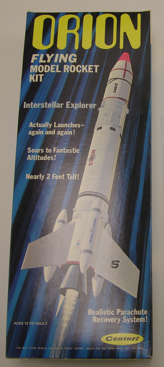Rocket, Flying Model Kit, Orion