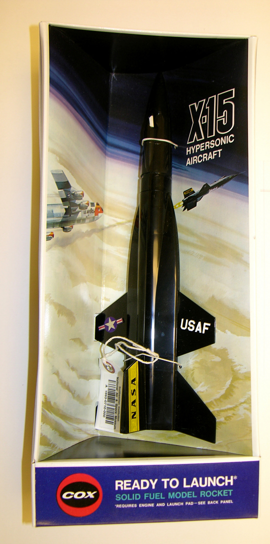 Aircraft, Flying Model Rocket Plane, X-15