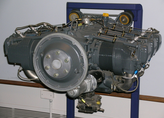 Horizontally-opposed 6, Lycoming AEIO-540-D4A5 Engine