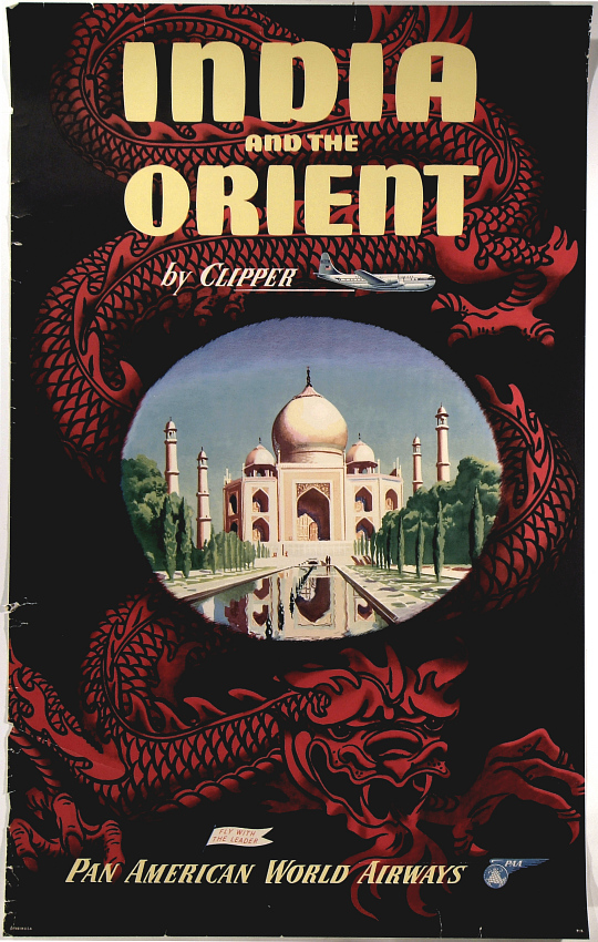 Pan American World Airways India and the Orient by Clipper