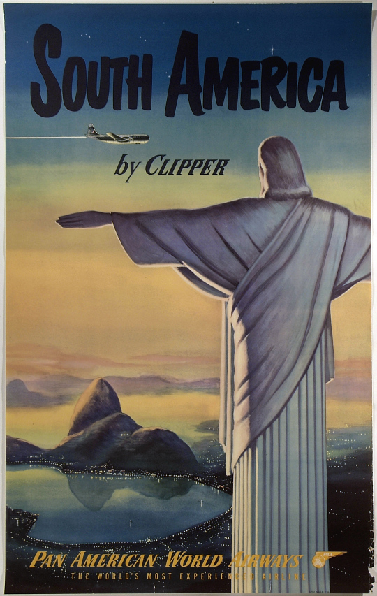 Pan American World Airways South America by Clipper