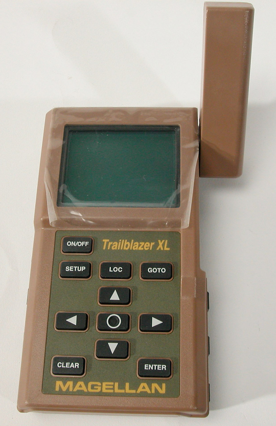 "Receiver, Handheld, GPS, ""Trailblazer XL"""
