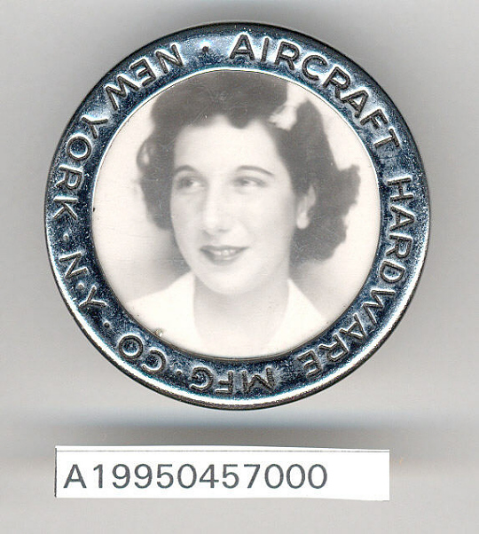 Aircraft Hardware Manufacturing Co. Identification Badge,