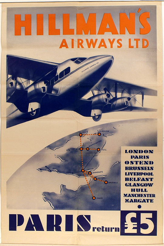 Hillman's Airways Ltd. Paris