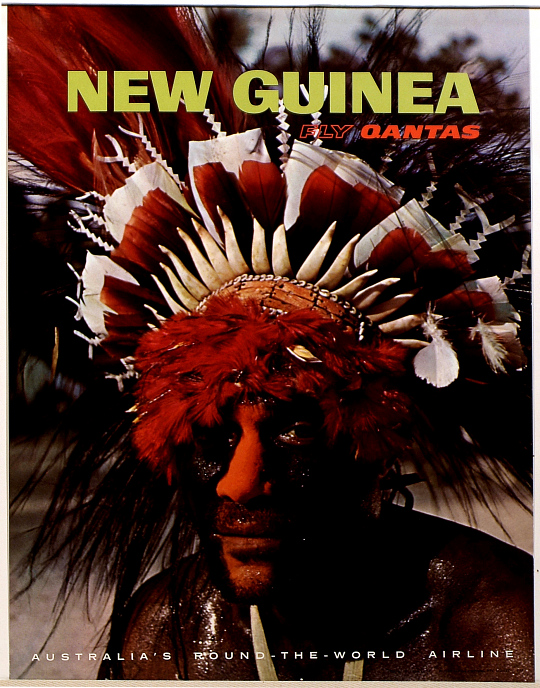 New Guinea Fly Qantas