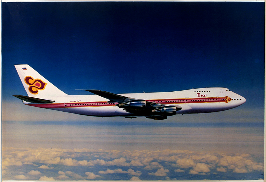 Thai Airlines Boeing 747