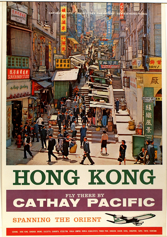 Hong Kong Fly There by Cathay Pacific