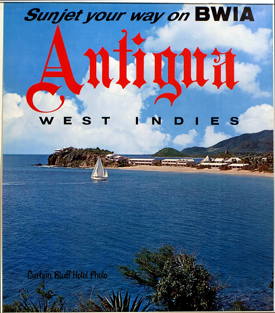 Sunjet Your Way on BWIA Antigua