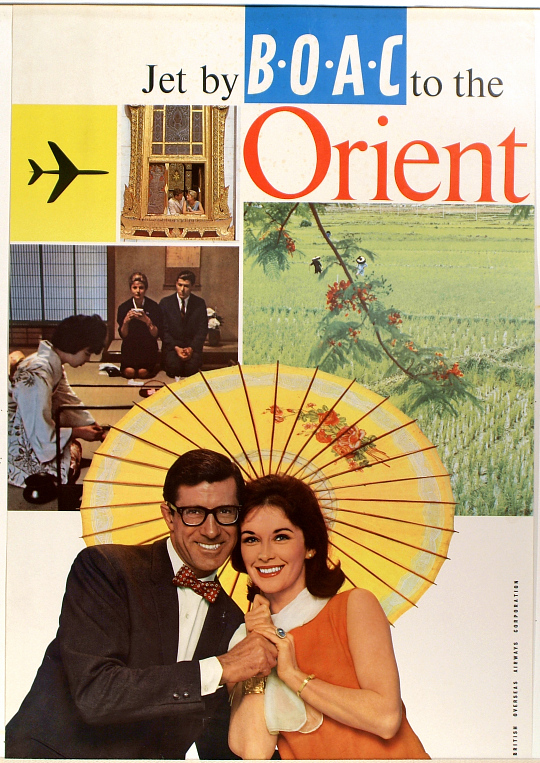 Jet by BOAC to the Orient