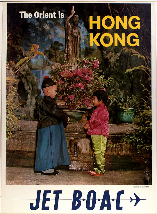 The Orient is Hong Kong. Jet BOAC
