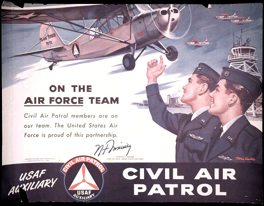 Civil Air Patrol On the Air Force Team