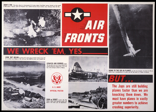 Air Fronts We Wreck 'Em, Yes ____But...