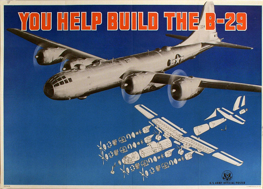 YOU HELP BUILD THE B-29
