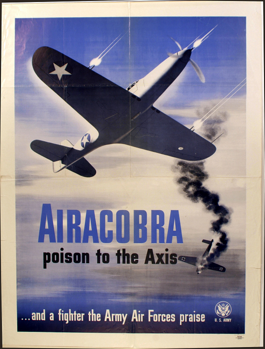 U.S. Army Airacobra poison to the Axis