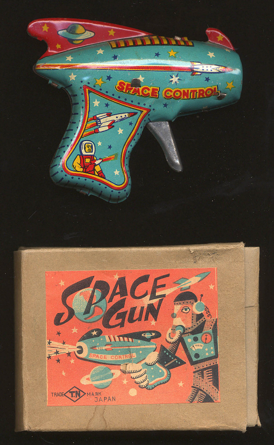 Toy, Space Gun, Space Control