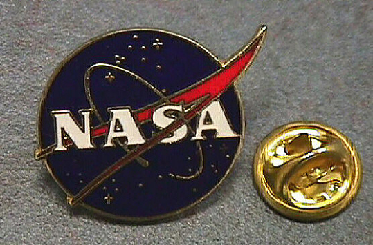 Pin, Lapel, NASA
