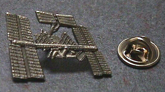 Pin, Lapel, Space Station (ISS)