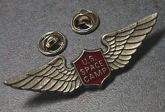 Pin, Lapel, Space Camp