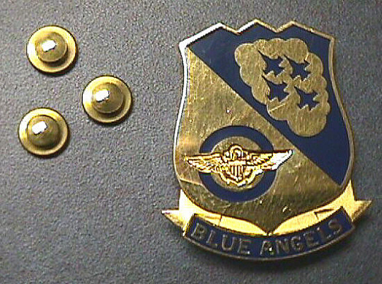 Pin, Lapel, Blue Angels
