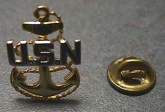 Pin, Lapel, U.S. Navy