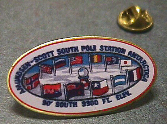 Pin, Lapel, South Pole Station