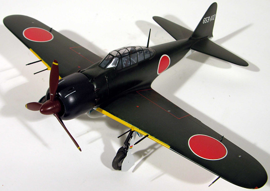 Model, Mitsubishi A6M5 Model 52c Zero