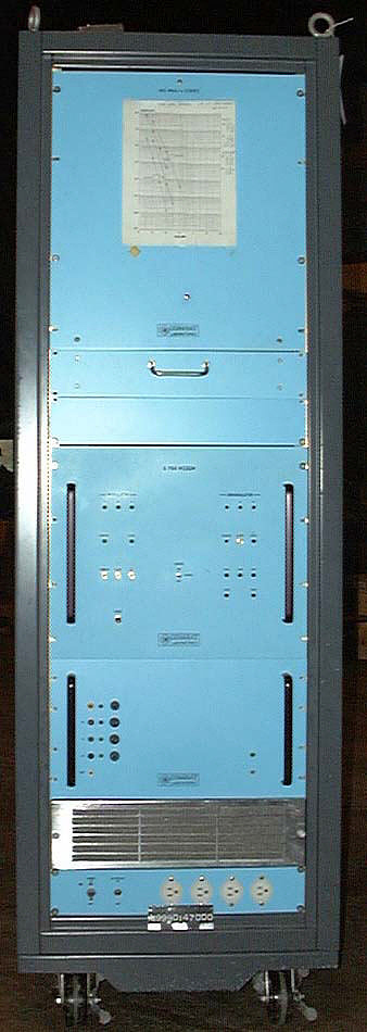 140 Mbit/s Coder/Decoder Rack, Ground Equipment, Communications Satellite