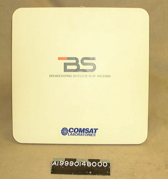 Flat Plate Antenna, Ground Equipment, Direct Broadcast Satellite