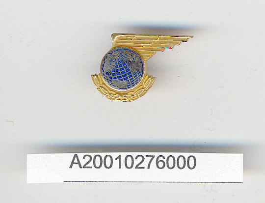 Pin, Lapel, Twenty Five Years Service, Pan American Airways (PAA)