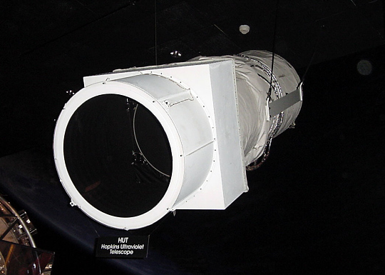 Baffle, Forward, Sunshade, Hopkins Ultraviolet Telescope