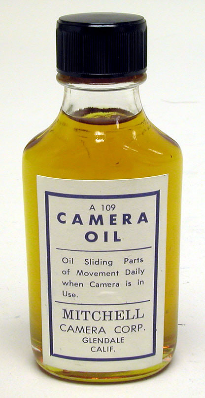 Accessories, Photographic, Mitchell Camera Oil