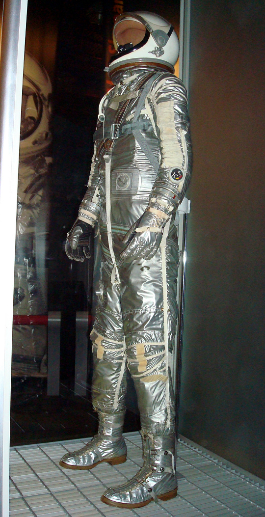 "Pressure Suit, Mercury, Grissom, ""Liberty Bell 7"", Flown"