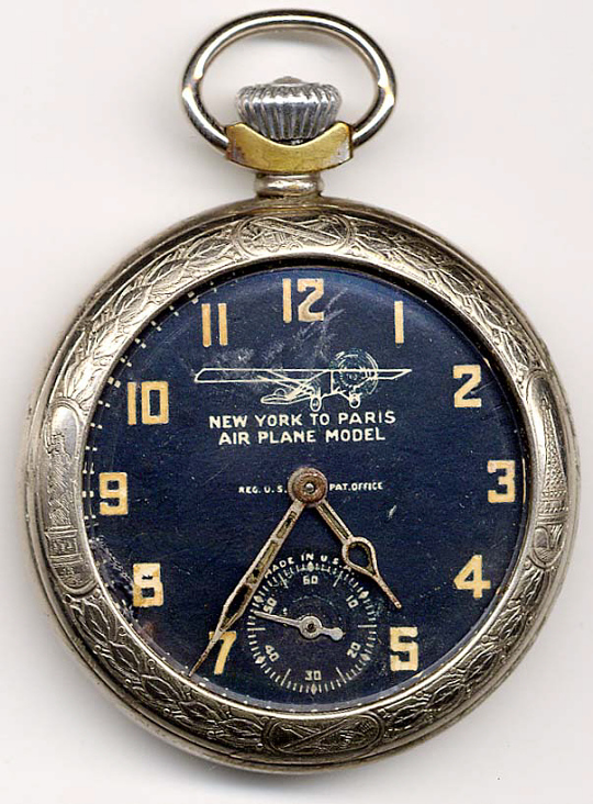 Pocket Watch, Lindbergh, King Collection