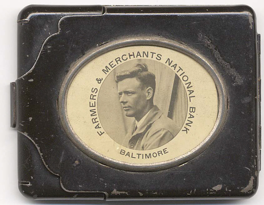 Card Holder, Lindbergh, King Collection