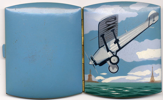 Cigarette Case, Lindbergh, King Collection